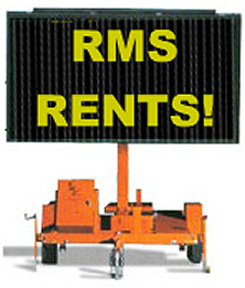 variable message board rental